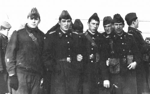 Курсанты 1-го батальона