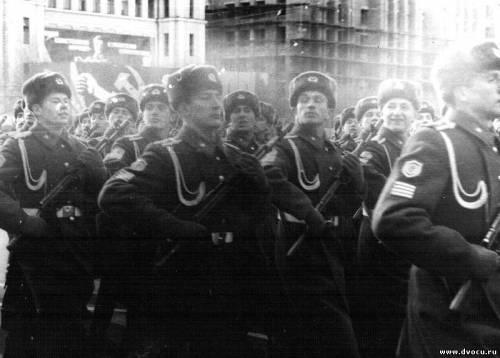 военный парад 7 ноября 1981 года москва видео